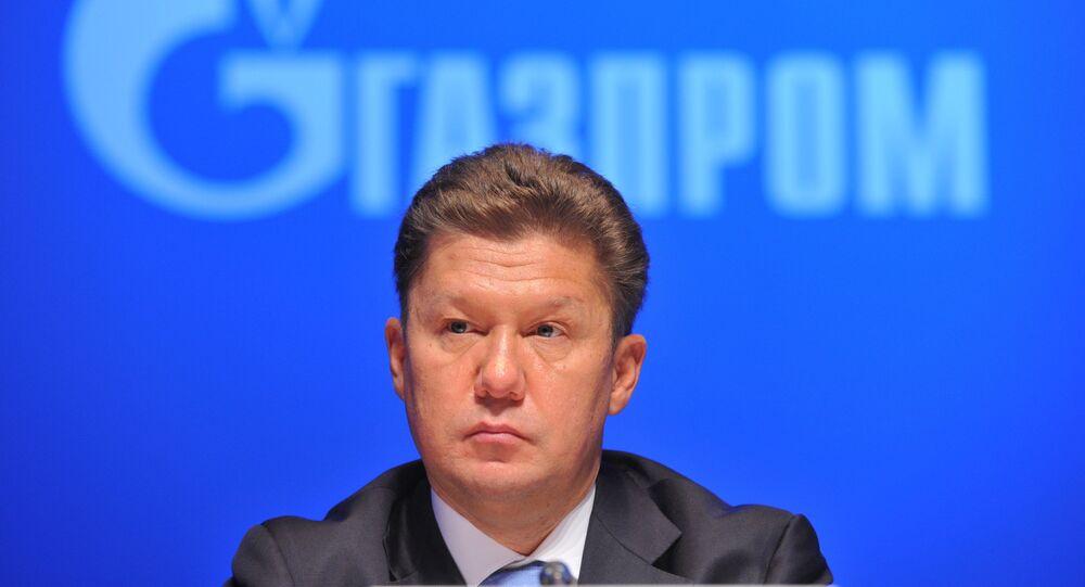AD Gazprom Alexey Miller