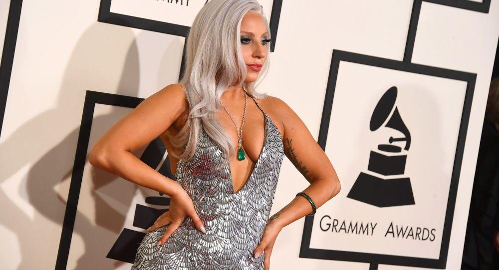 La cantante americana Lady Gaga