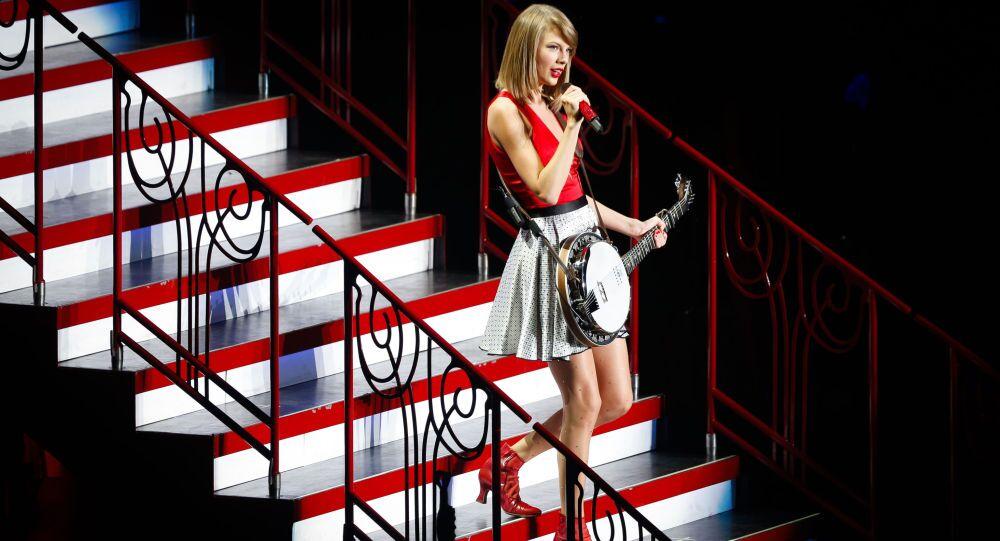 Taylor Swift a Shanghai nel 2014