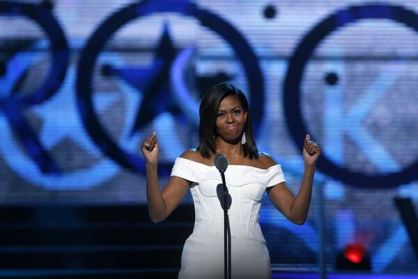 Michelle Obama. - Sputnik Italia