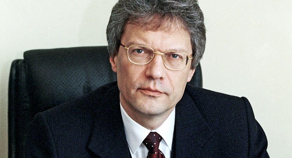 L`ambasciatore  della Russia in Italia Sergey Razov