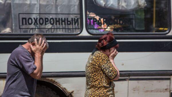 Funerali Donbass guerra - Sputnik Italia