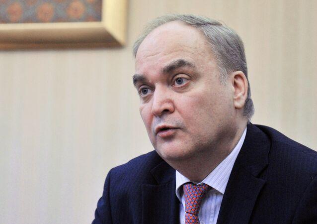Ambasciatore russo in USA Anatoly Antonov