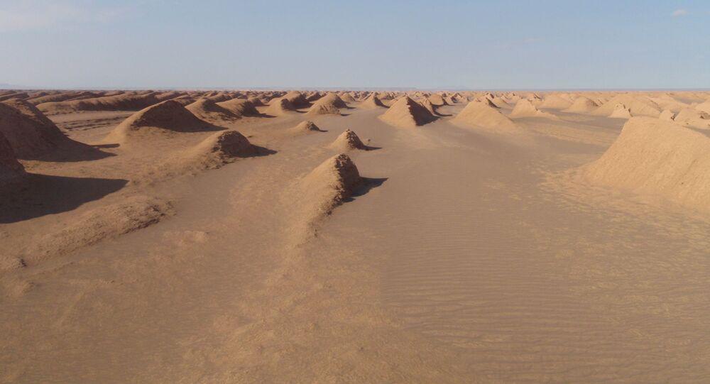 Deserto Dasht-e Lut , Iran