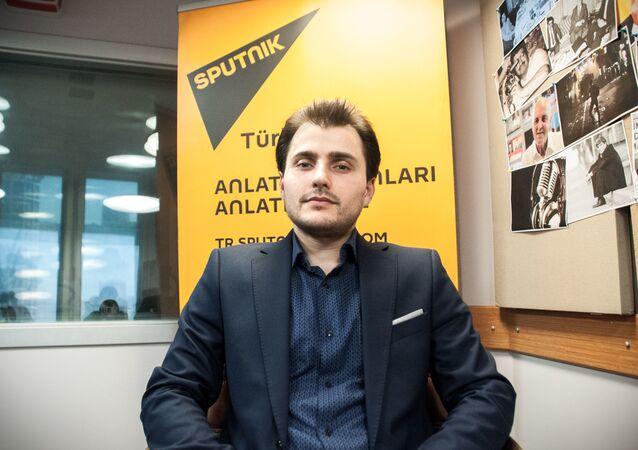 Redattore capo di Sputnik Turchia Tural Kerimov