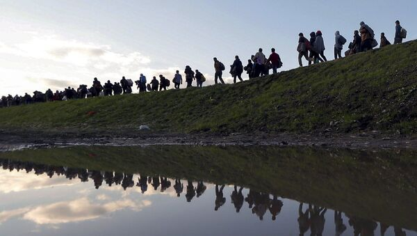 Migranti in Slovenia - Sputnik Italia
