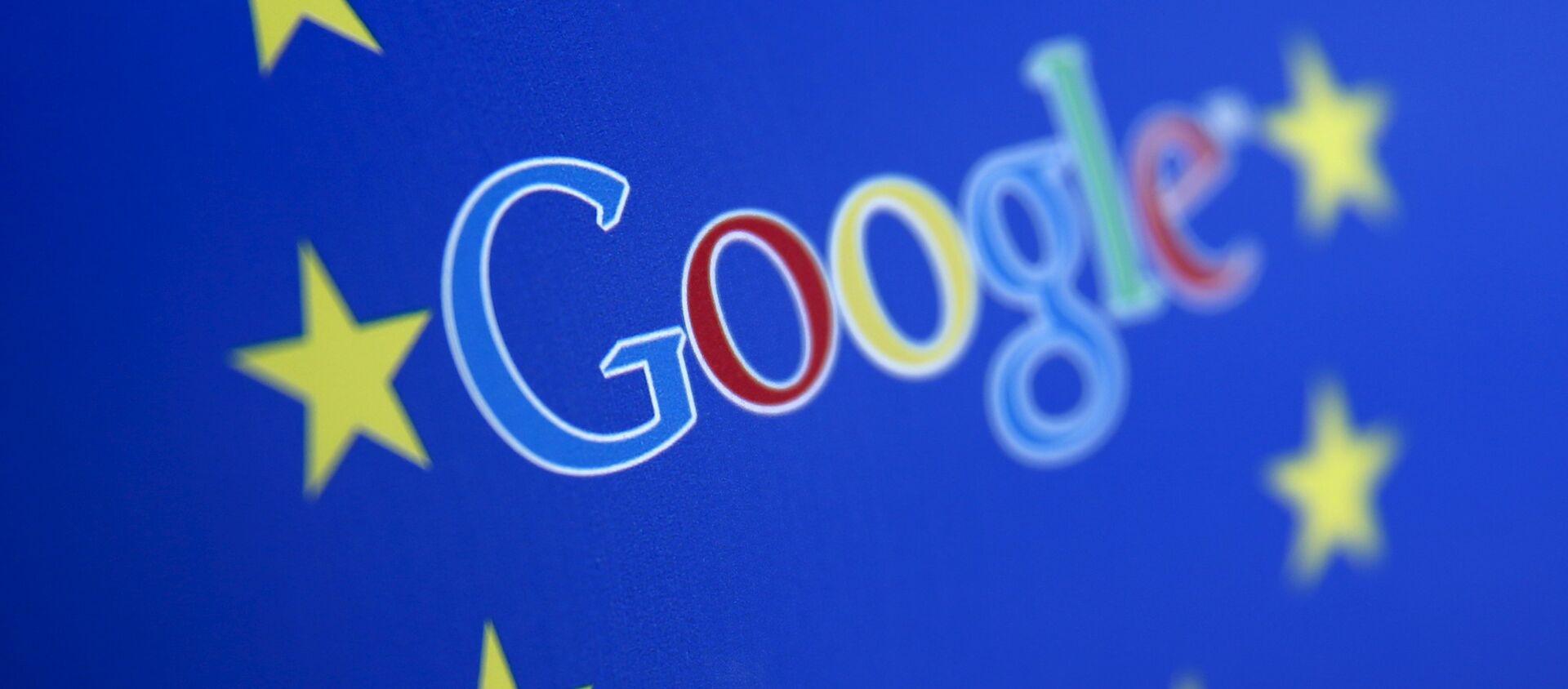 Logo di Google e l'Unione Europea - Sputnik Italia, 1920, 13.05.2021