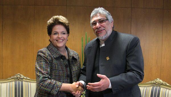 Dilma Rousseff e Fernando Lugo - Sputnik Italia