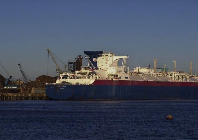 Nave cargo per il trasporto di gas naturale liquefatto