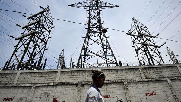 Una centrale elttrica in Venezuela. - Sputnik Italia
