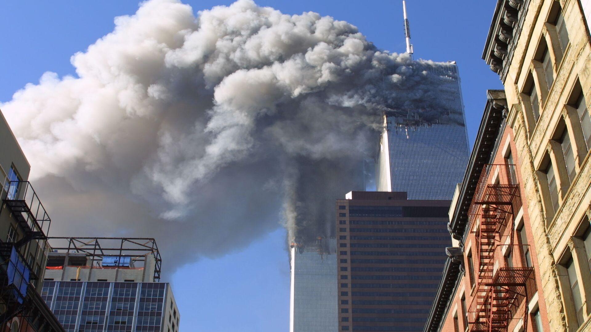 L'attentato terroristico dell'11 settembre a New York - Sputnik Italia, 1920, 08.09.2021
