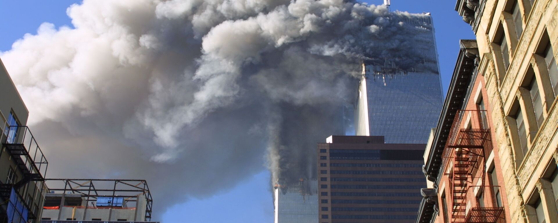 L'attentato terroristico dell'11 settembre a New York - Sputnik Italia, 1920, 22.01.2020