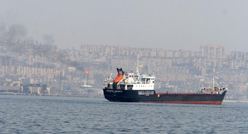 Navi nel Mar Caspio