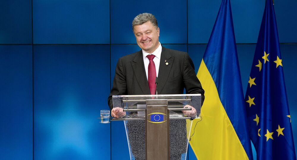 Petr Poroshenko (foto d'archivio)