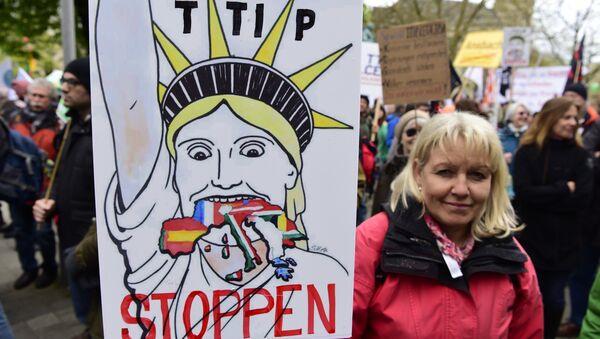 Manifestazione ad Hannover contro TTIP - Sputnik Italia
