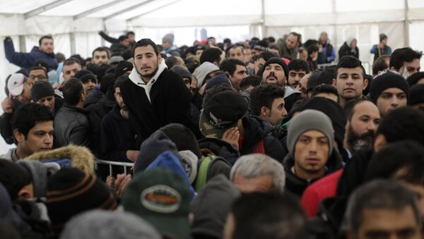 Migranti a Berlino - Sputnik Italia