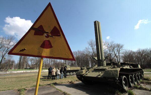 Pripyat, mezzi usati durante l'emergenza - Sputnik Italia
