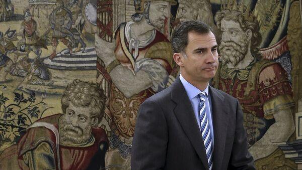 Il re spagnolo Felipe VI - Sputnik Italia