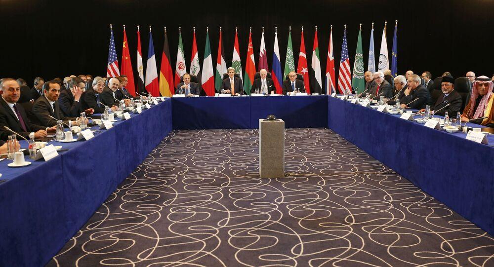 Una riunione del Gruppo di sostegno internazionale alla Siria (Issg)