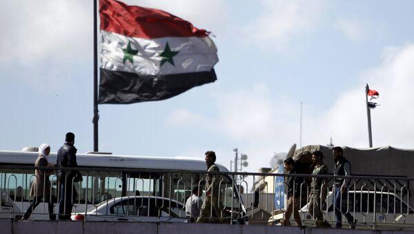 Bandiera della Siria, Damasco - Sputnik Italia