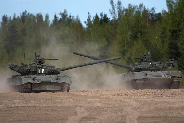 Carro armato T-80. - Sputnik Italia