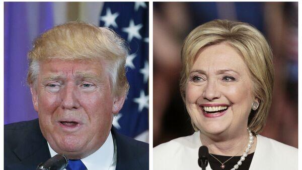 Donald Trump e Hillary Clinton - Sputnik Italia