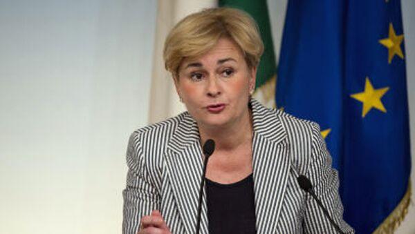 Il ministro dello Sviluppo Economico, Federica Guidi. - Sputnik Italia