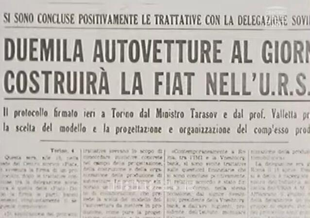La Fiat approda in Russia, la realizzazione dello stabilimento di Togliatti