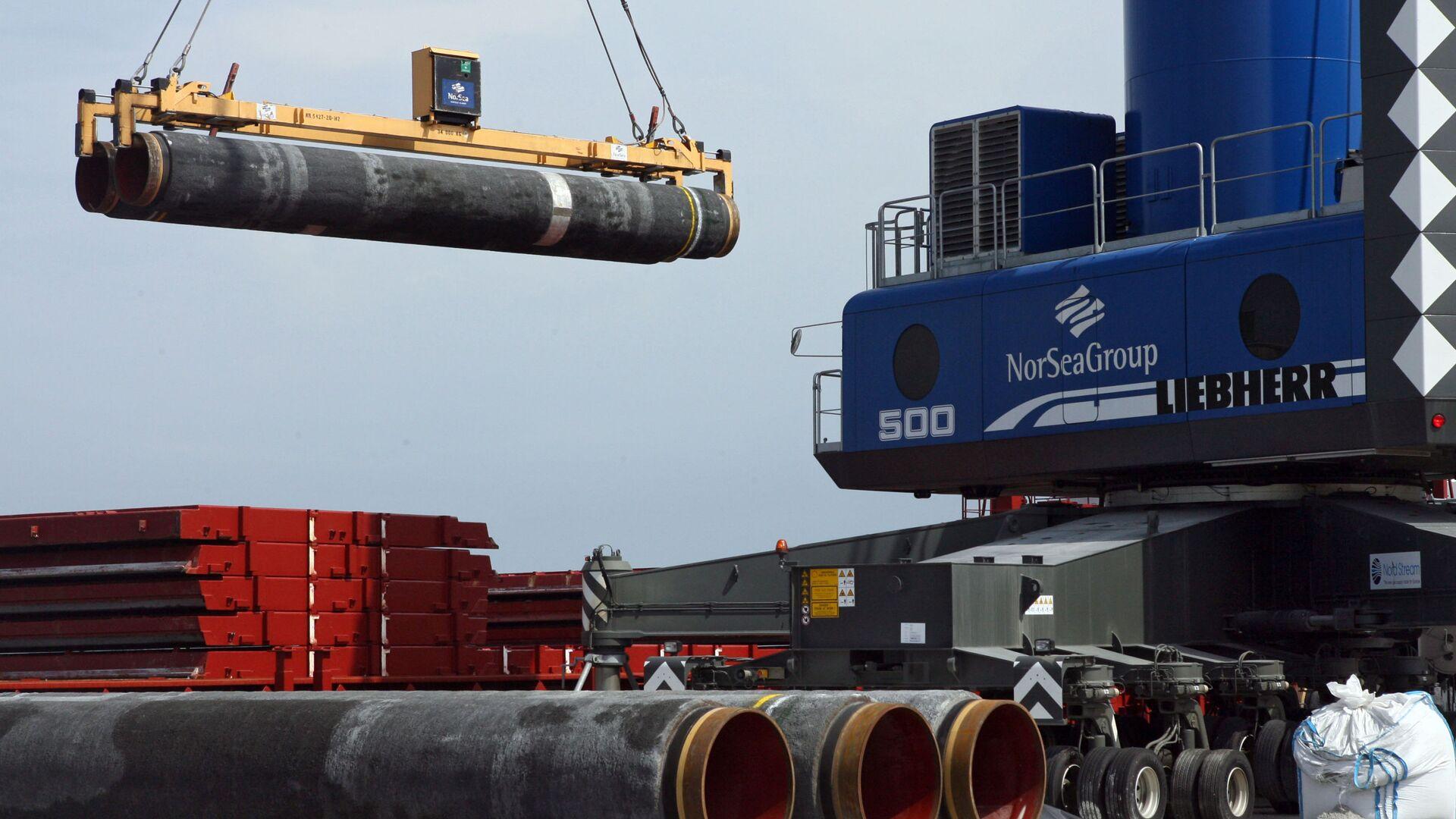 Costruzione gasdotto Nord Stream - Sputnik Italia, 1920, 23.08.2021