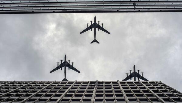 Parata della Vittoria a Mosca: le prove della parte aerea. - Sputnik Italia