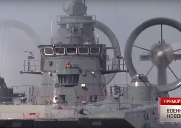 Esercitazioni navali nei pressi di Kaliningrad