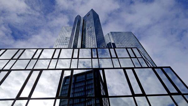 La sede di Deutsche Bank a Francoforte - Sputnik Italia