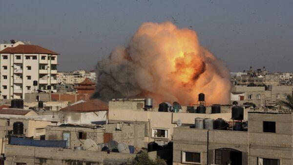 Raid dell'Israele a Gaza - Sputnik Italia
