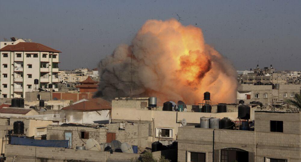 Raid dell'Israele a Gaza