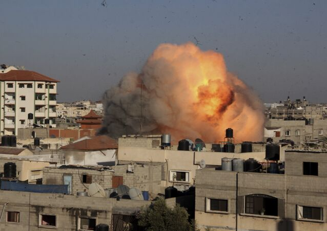 Raid d'Israele a Gaza (foto d'archivio)