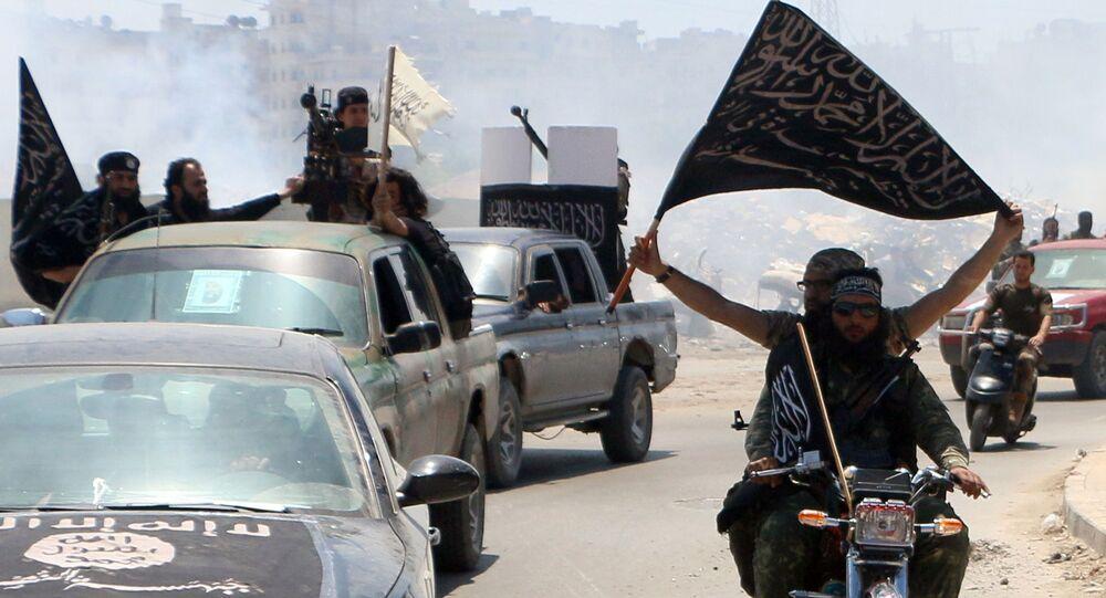 Combattenti di Al-Nusra in Siria