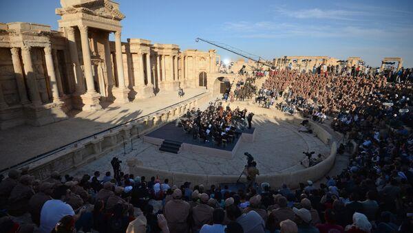 Concerto a Palmira - Sputnik Italia