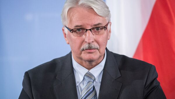 Ministro degli Esteri della Polonia Witold Waszczykowski - Sputnik Italia