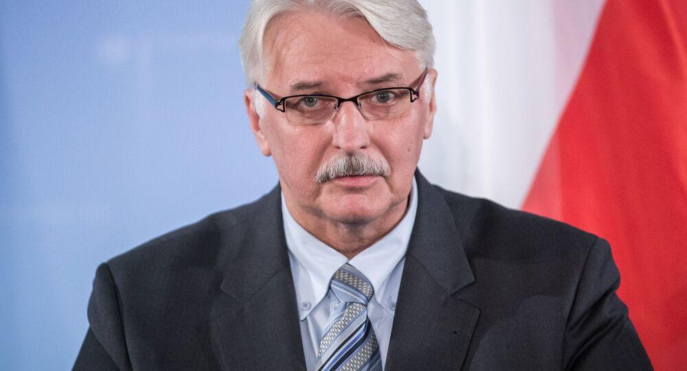 Ministro degli Esteri della Polonia Witold Waszczykowski