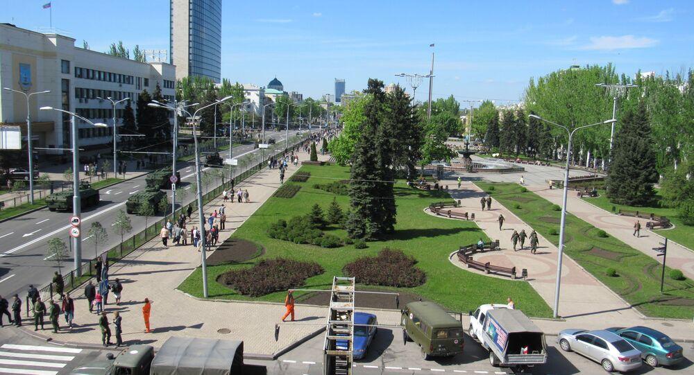 Donetsk, prima del 9 maggio
