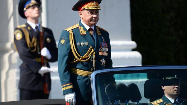 Il ministro della Difesa russo Shoigu all'inizio della Parata - Sputnik Italia