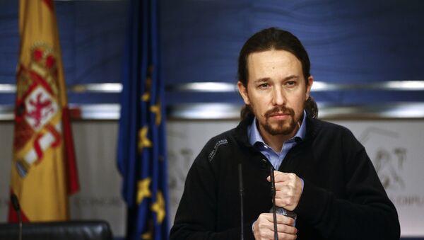 Pablo Iglesias, il leader di Podemos - Sputnik Italia