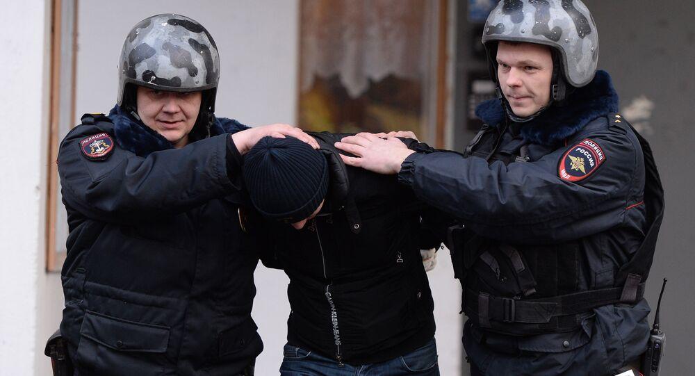Agenti della polizia russa