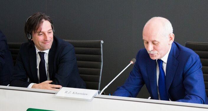 Fabrizio Sala e Rustem Khamitov