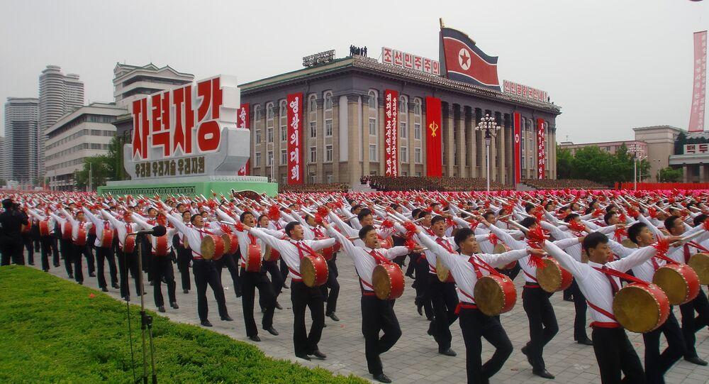 Manifestazione in Corea del Nord