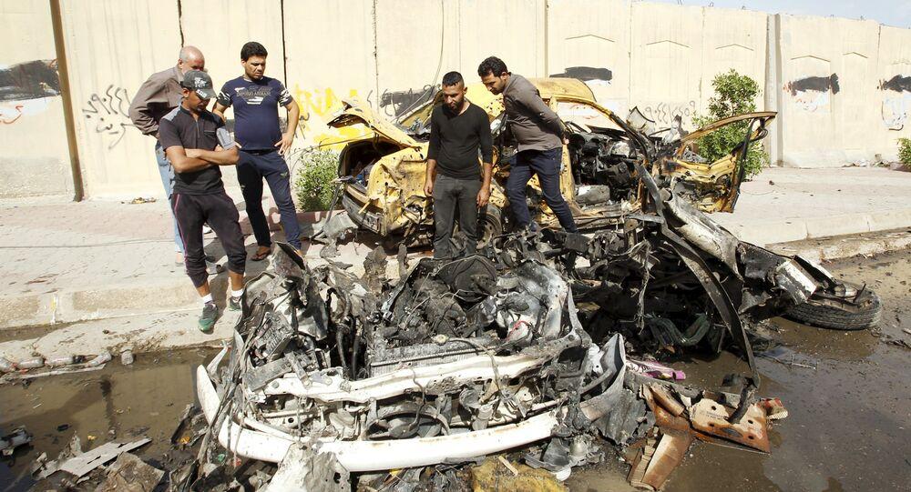 Autobomba esplosa in Iraq