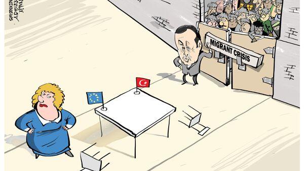 Il regime di visti tra Turchia e UE - Sputnik Italia