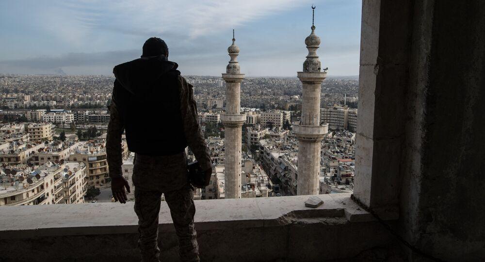 Militare in Siria