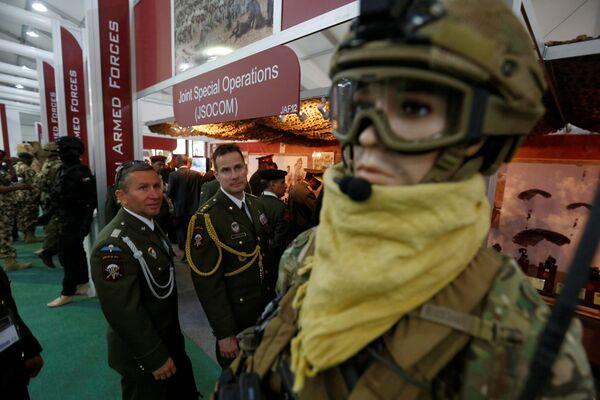 Esposizione militare SOFEX-2016 in Giordania. - Sputnik Italia