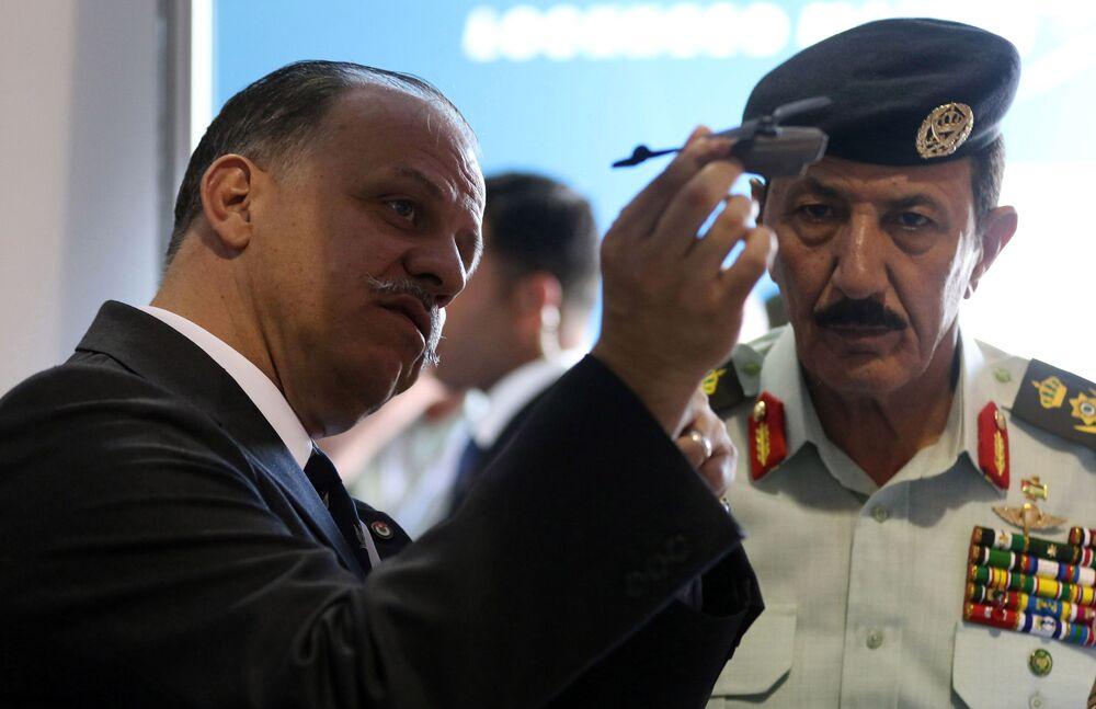 Esposizione militare SOFEX-2016 in Giordania.
